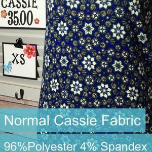 LuLaRoe Cassie Skirt XS **NEW**